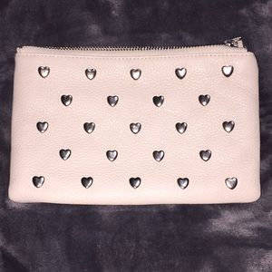 Brighton White Wristlet with Detachable Straps